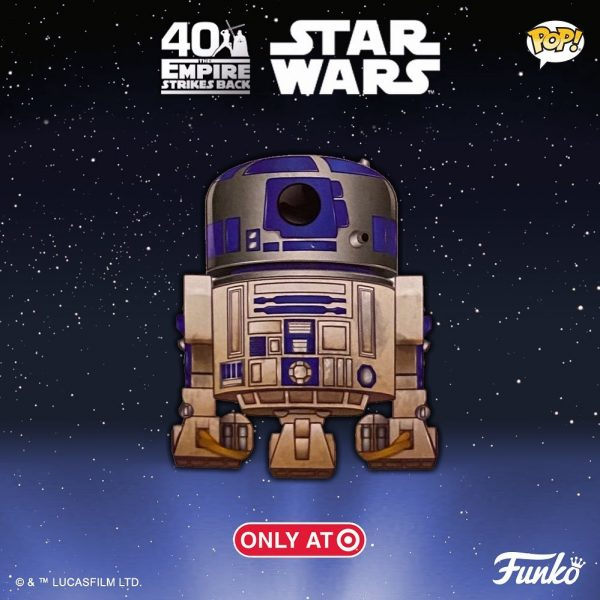 Funko Pop! Star Wars: Episode V The Empire Strikes Back the 40th Anniversary: R2-D2 Funko Pop! Vinyl Figure - Target Exclusive