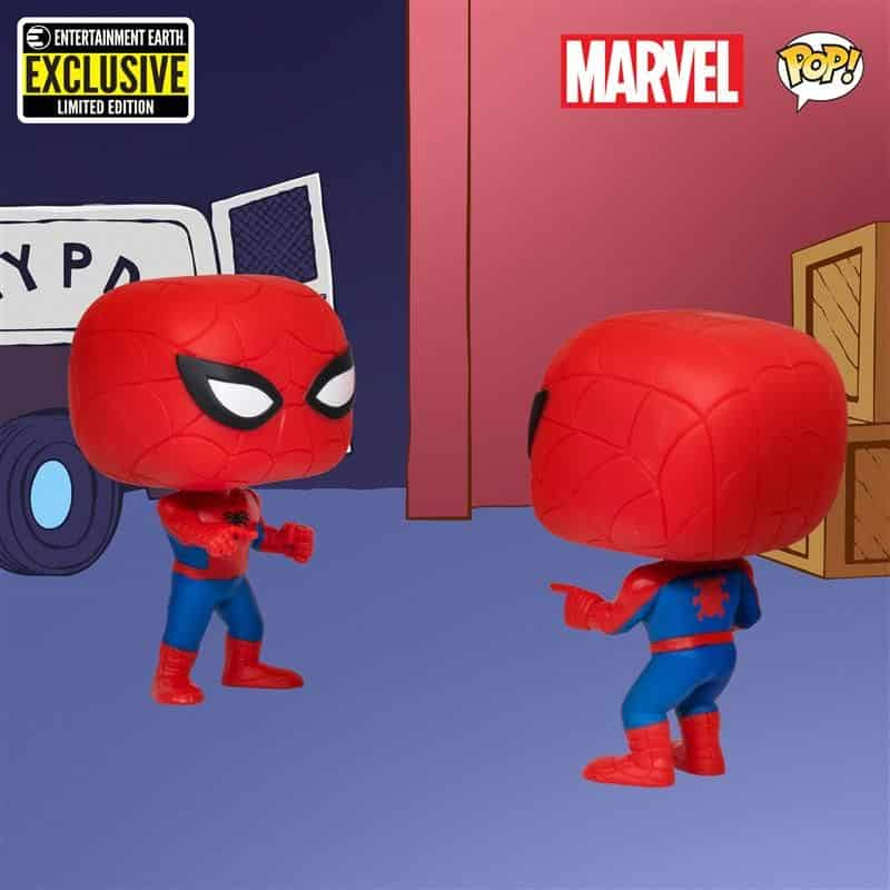 Spider-Man Imposter Pop! Vinyl Figure 2-Pack Entertainment Earth Exclusive