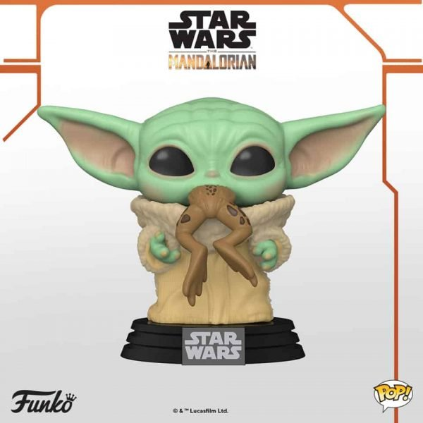 Funko Pop! Star Wars: The Mandalorian - The Child With Frog  Funko Pop Vinyl Figure