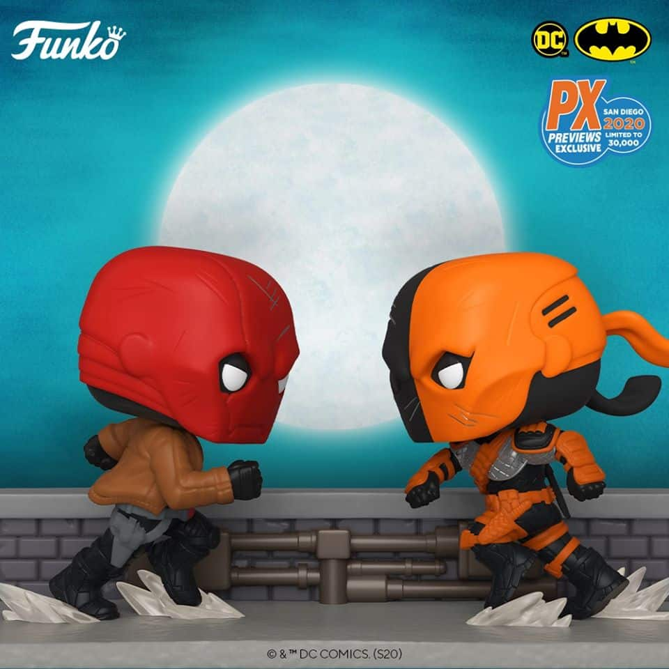 DC Comic Red Hood vs. Deathstroke Comic Moment Pop! Vinyl 2-Pack - San Diego Comic-Con 2020 Previews Exclusive 2