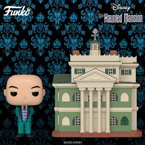Disney Parks Pop! Town Disney Parks - Haunted Mansion with Butler