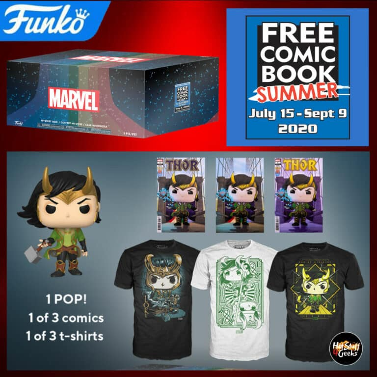 Free Comic Book Summer 2020  FCBD 2020 Funko Marvel Mystery Box