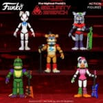 Funko Five Nights at Freddy's Security Breach Action Figures