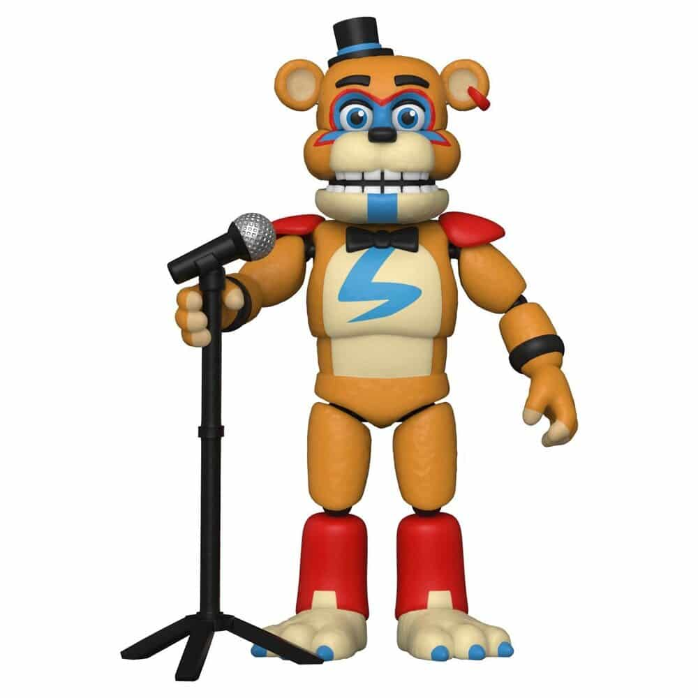 Funko Five Nights at Freddy's Security Breach Glamrock Freddy Action Figure