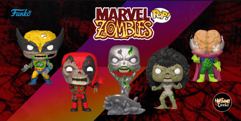Funko POP! Marvel Zombies List Gallery Exclusives