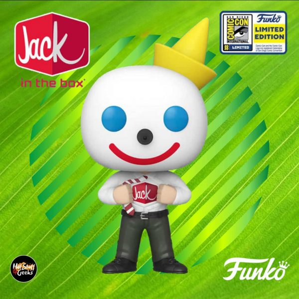 Funko Pop! Ad Icons: Jack in the Box- Jack in Disguise Funko Pop! Vinyl Figure - SDCC 2020 and Funko Shop Shared Exclusive