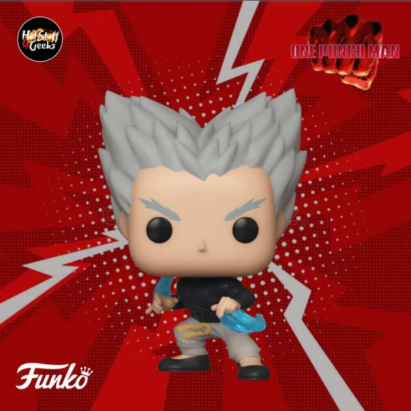 Funko Pop! Animation - One Punch Man -  Garou Flowing Vinyl Figure
