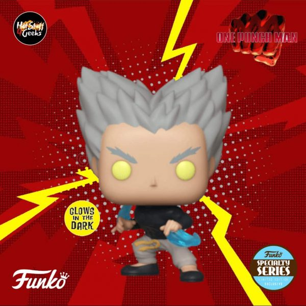 Funko Pop! Animation - One Punch Man -  Garou Flowing Water Glow In The Dark Vinyl Figure