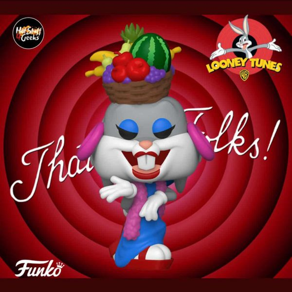Funko Pop Bugs Bunny 80th Anniversary Bugs in Fruit Hat Pop! Vinyl Figure