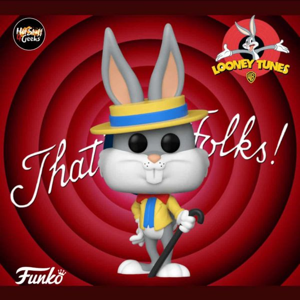 Funko Pop Bugs Bunny 80th Anniversary Bugs in Show Outfit Pop! Vinyl Figure