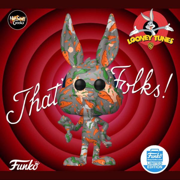 Funko Pop Bugs Bunny 80th Anniversary Carrot Bugs Funko Shop Exclusive Pop! Vinyl Figure