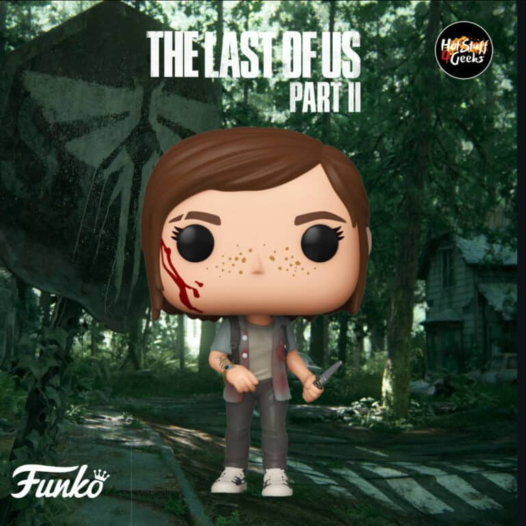 Funko Pop! Games The Last of Us Part II- Ellie Funko Pop Vinyl Figure