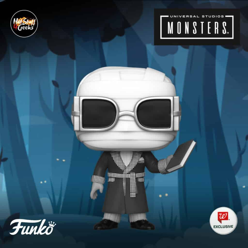 Funko Pop! Movies Universal Monsters The Invisible Man Black and White Funko Pop Vinyl Figure Walgreens Exclusive