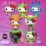 Funko Pop! Sanrio Hello Kitty Kaiju Funko Pop Vinyl Figures 2020: Sky Kaiju, Mecha Kaiju, Sea Kaiju, Space Kaiju and Land Kaiju