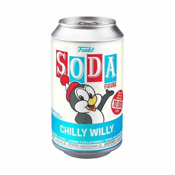Funko Vinyl Soda - Chilly Willy Figures Soda Package