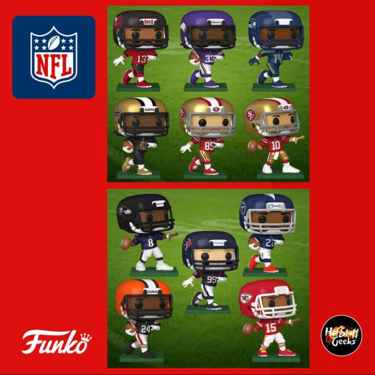 POP! Sports NFL Funko Pop Vinyl Figures Wave 2020