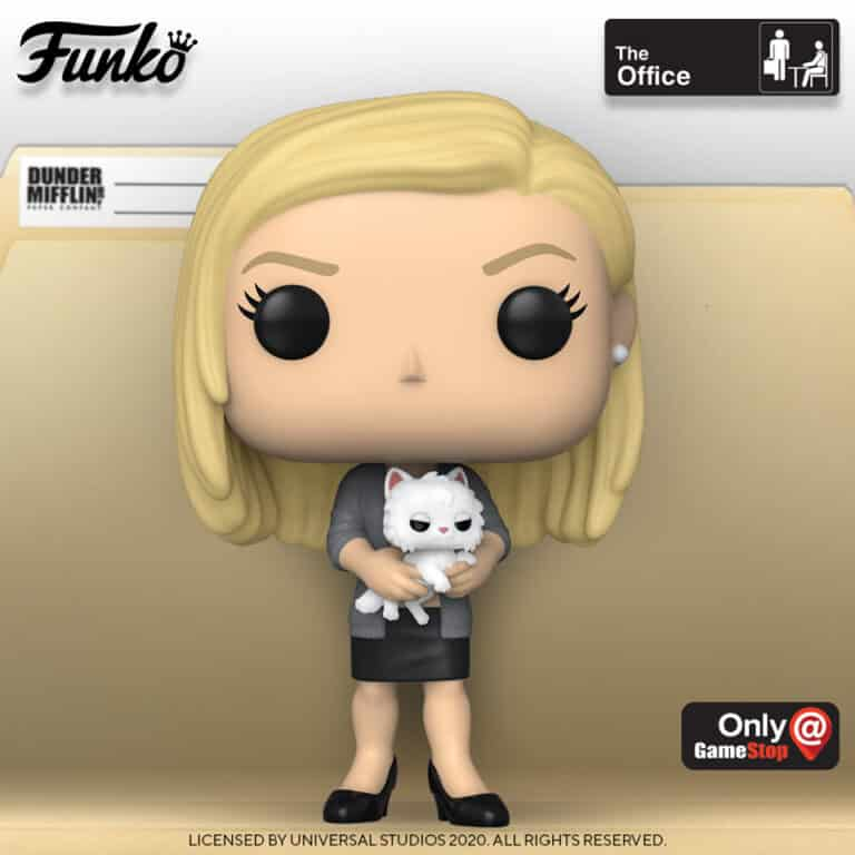 POP! Television The Office Angela Martin with Sprinkles GameStop Exclusive Funko Pop Vinyl Figure