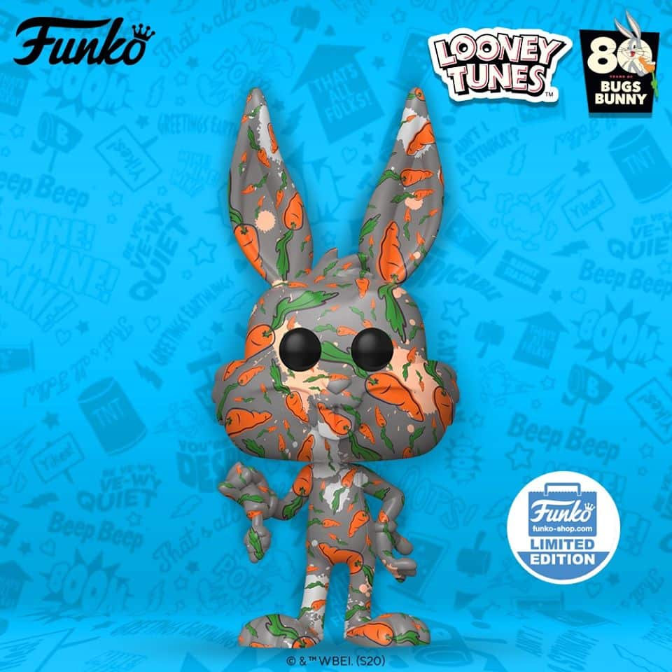Pop! Animation Bugs Bunny 80th Anniversary Funko Shop Exclusive