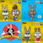 Pop! Animation Bugs Bunny 80th Anniversary Funko Pop Figures First Wave