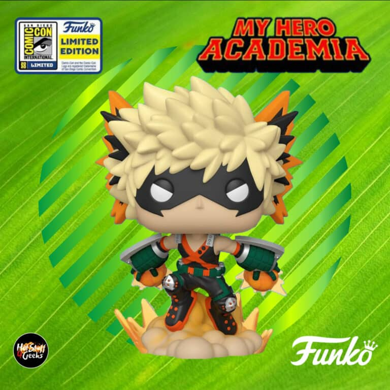 Funko Pop! Animation: My Hero Academia - Katsuki Bakugo Funko Pop! Vinyl Figure - SDCC 2020 and Hot Topic Shared Exclusive