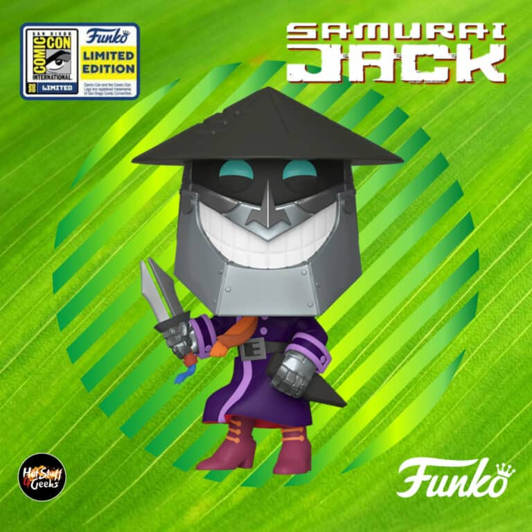 Pop! Animation: Samurai Jack - Scaramouche Funko Pop! Vinyl Figure - SDCC 2020 Exclusive