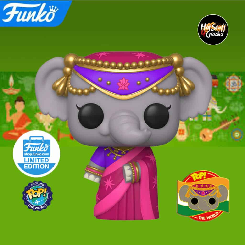 Pop! Around the World Priya Funko Pop Vinyl Figure Funko Shop Exclusive