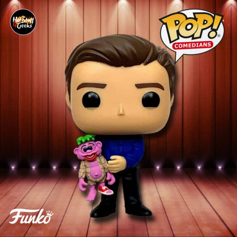 Pop! Comedians Jeff Dunham And Peanuts Funko Pop! Vinyl Figure