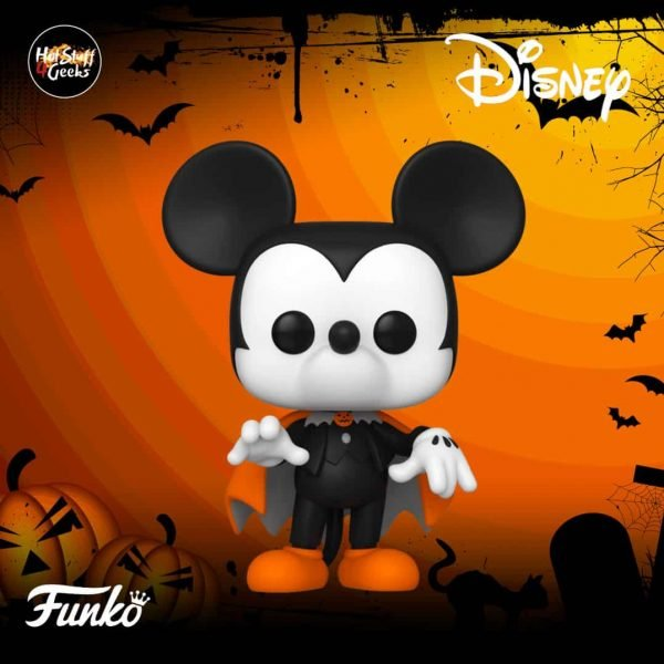 Pop! Disney Halloween Spooky Mickey Funko Pop Vinyl Figure