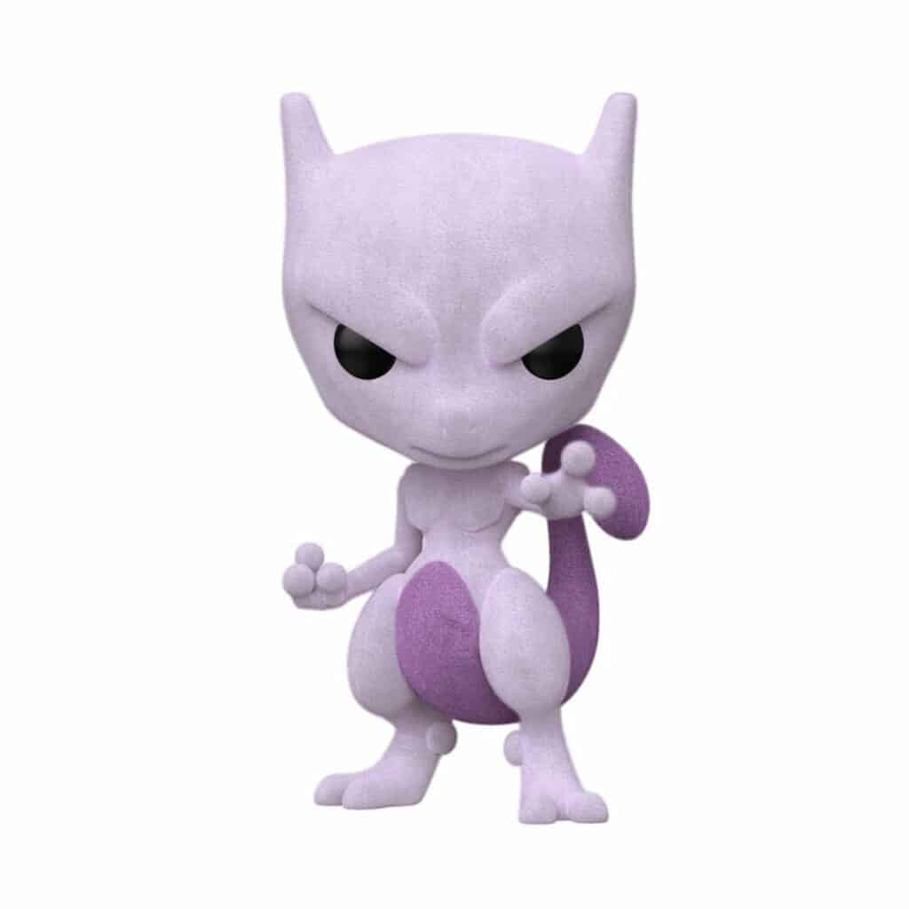 Funko Pop! Games: Pokémon: Mewtwo (Flocked) Funko Pop! Vinyl Figure - SDCC 2020 and Funko Shop Shared ExclusiveFunko Pop! Games Pokémon Mewtwo (Flocked) Funko Pop! Vinyl Figure - SDCC 2020 and Funko Shop Shared Exclusive