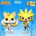 Funko Pop! Games: Sonic the Hedgehog 2-Pack - Super Tails and Super Silver Funko Pop! Vinyl Figures - SDCC 2020 and GameStop Shared Exclusives