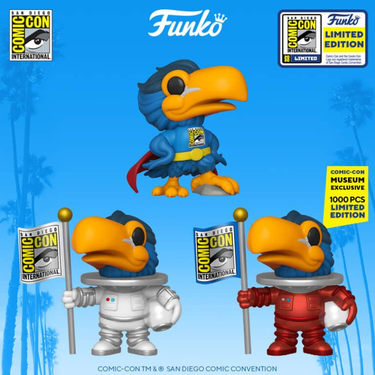Pop! Icons  SDCC San Diego Comic-Con 2020 - Toucan Funko Pop! Vinyl Figures - SDCC Exclusives