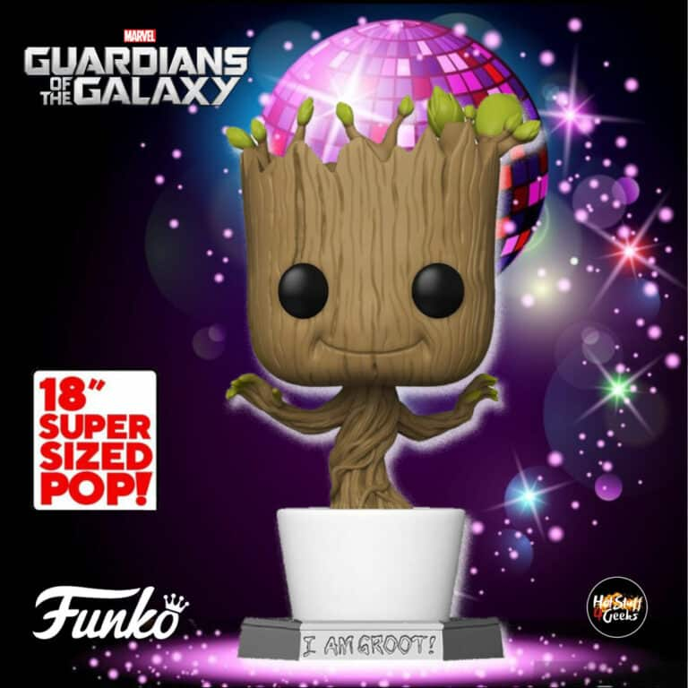 Pop! Marvel Guardians of The Galaxy - 18 inch Dancing Groot Funko Pop Vinyl Figure