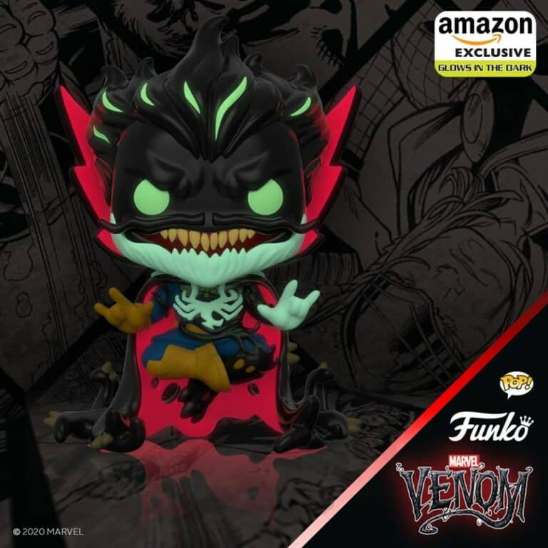 Pop! Marvel - Venomized Doctor Strange Glow in the Dark Amazon Exclusive.