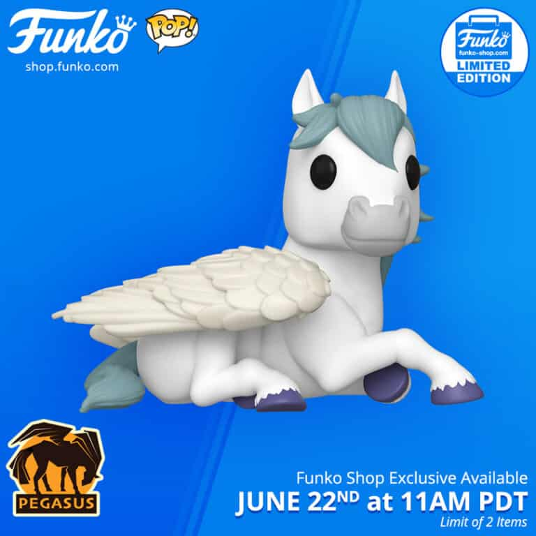 Pop! Myths Pegasus Funko Pop Vinyl Figure Funko Shop Exclusive