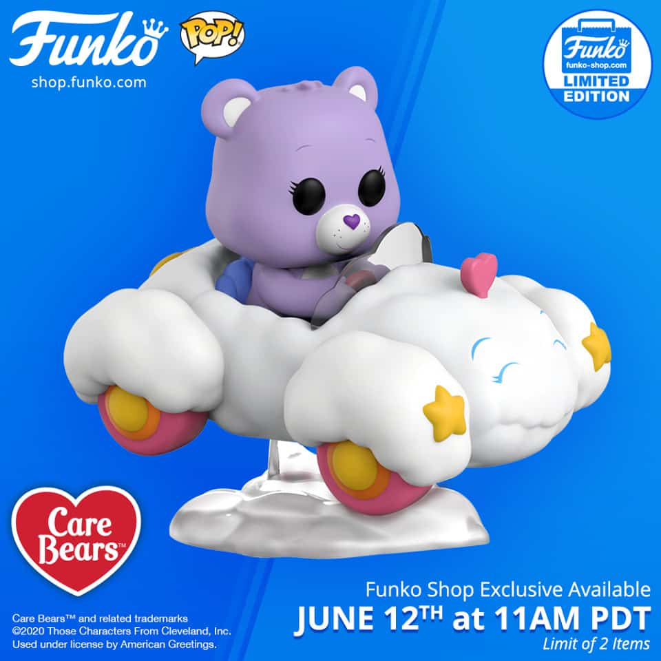 Pop! Rides Care Bears - Share Bear with Cloud Mobile