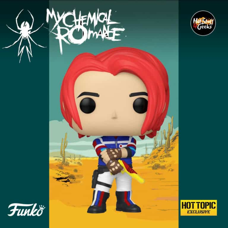 Pop! Rocks My Chemical Romance - Danger Days - Gerard Way Funko Pop Vinyl Figure Hot Topic Exclusive 3