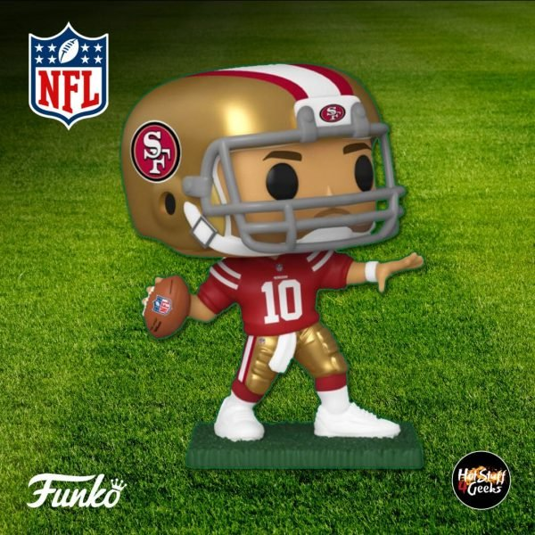 Pop Sports NFL 49ers Jimmy Garoppolo Funko Pop! Vinyl Figure 2020