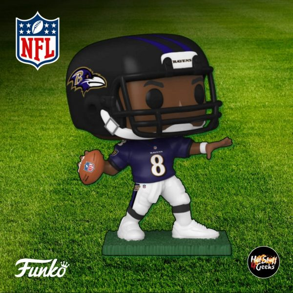 Pop Sports NFL Baltimore Ravens Lamar Jackson Funko Pop! Vinyl Figure 2020