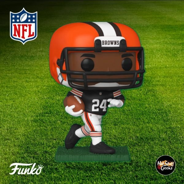 Pop Sports NFL Cleveland Browns Nick Chubb Funko Pop! Vinyl Figure 2020