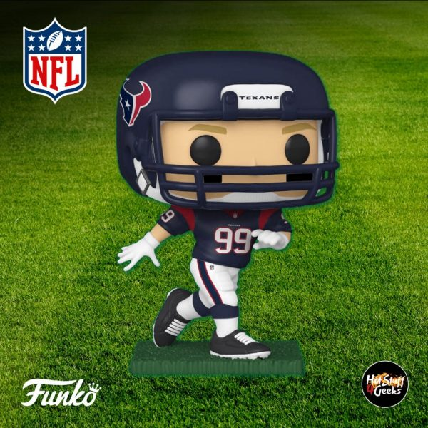 Pop Sports NFL Houston Texans JJ Watt Funko Pop! Vinyl Figure 2020