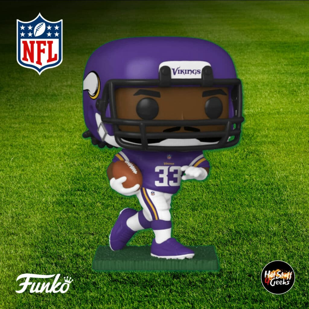 Pop Sports NFL Minnesota Vikings Dalvin Cook Funko Pop! Vinyl Figure 2020