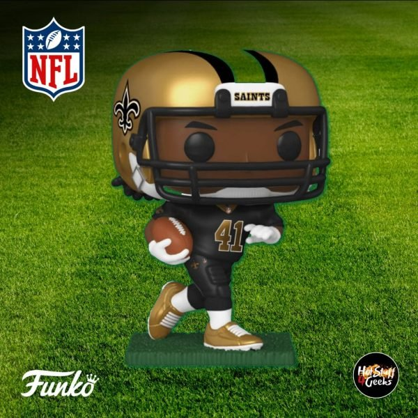 Pop Sports NFL Saints Alvin Kamara Funko Pop! Vinyl Figure 2020