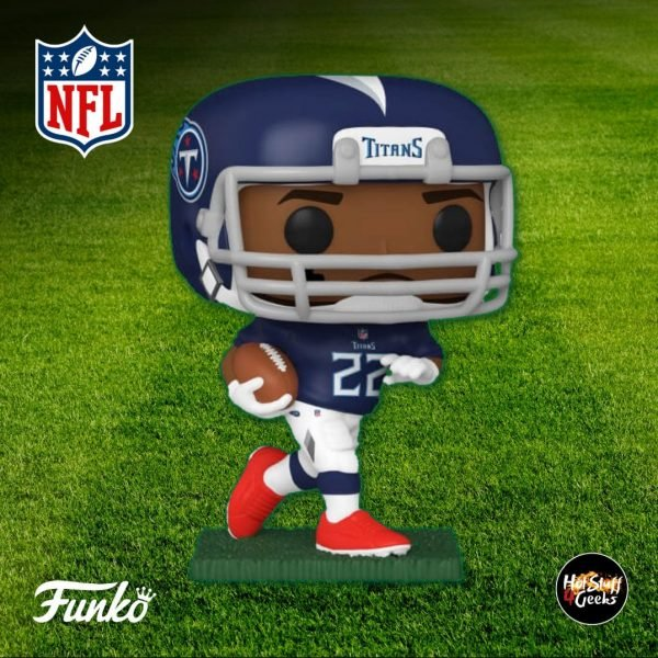 Pop Sports NFL Tennessee Titans Derrick Henry Funko Pop! Vinyl Figure 2020