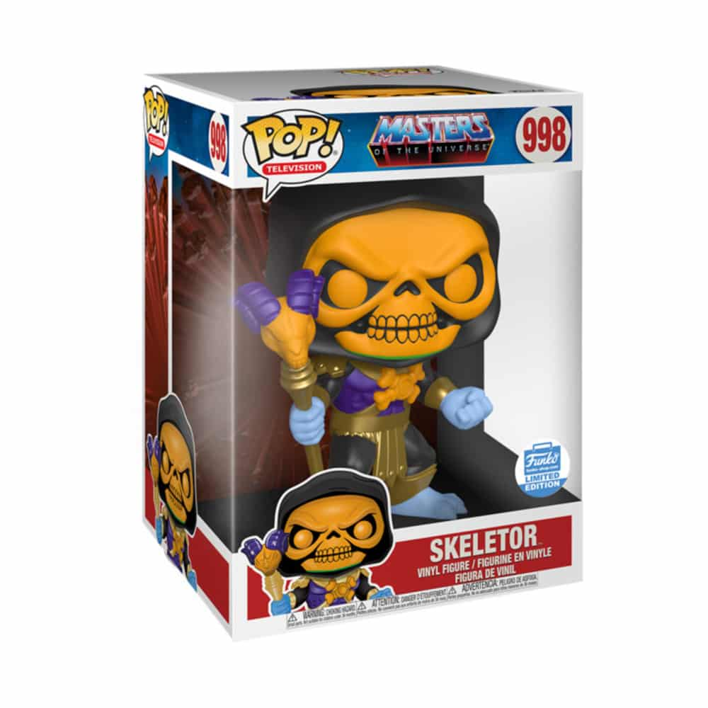 Pop! Television 10 inches Masters of The Universe Skeletor Funko Pop Vinyl Figure Box