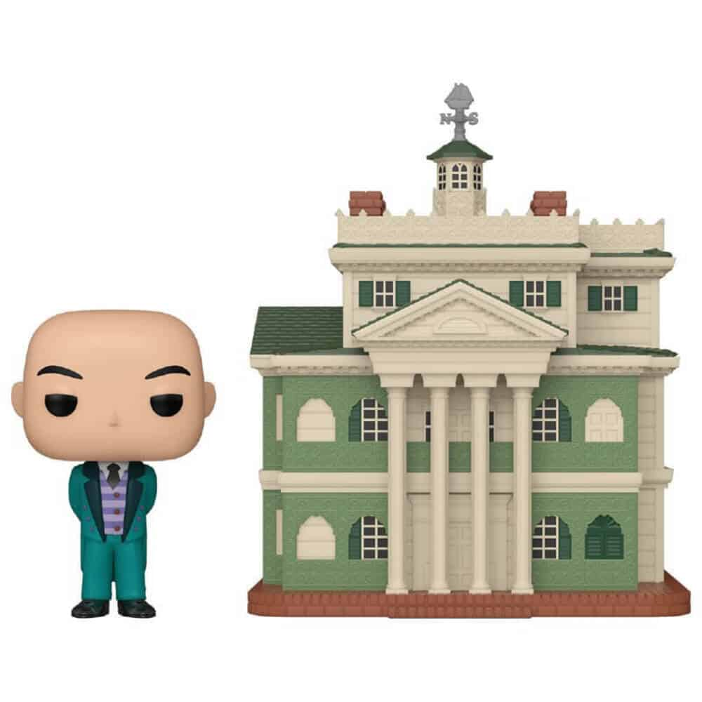 Pop! Town Disney Parks - Haunted Mansion with Butler Pop Vinyl figure