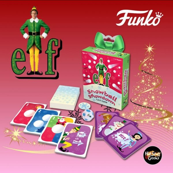 Funko Games: Elf - Snowball Showdown Card Game - Christmas Holiday 2020