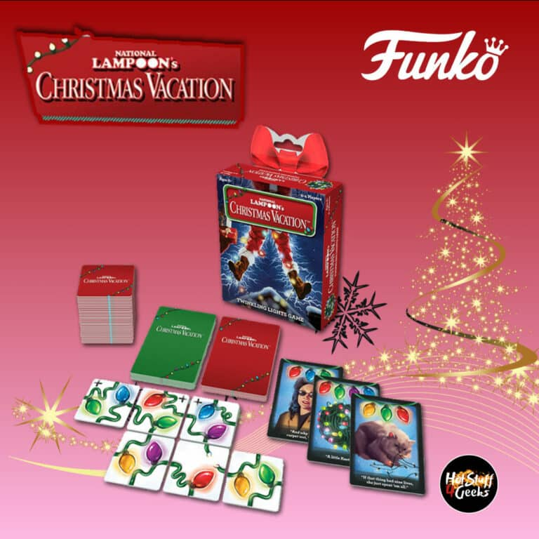 Funko Games: National Lampoon's Christmas Vacation Card Game - Christmas Holiday 2020