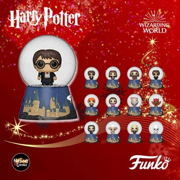 Funko Harry Potter Holiday Mystery Minis Snow Globes