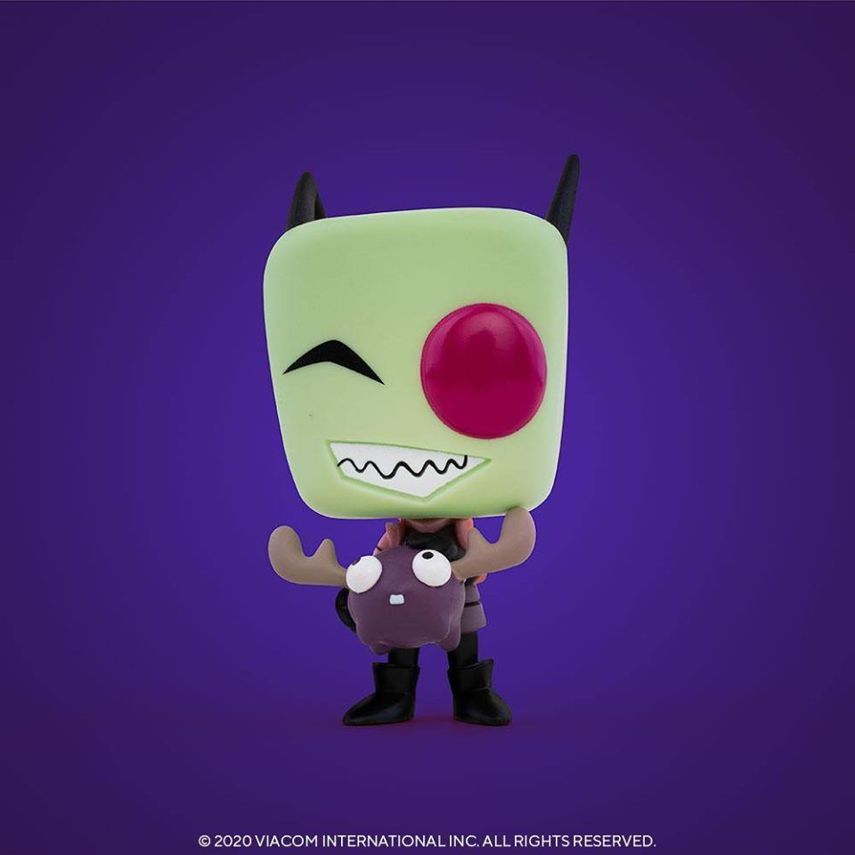 Funko POP Animation Invader Zim - Zim With Minimoose Funko Pop! Vinyl Figure - SDCC 2020 and Entertainment Earth Shared Exclusive