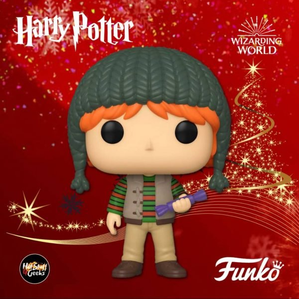 Funko POP! Harry Potter: Holiday - Ron Weasley Funko Pop! Vinyl Figure - Christmas Holiday 2020